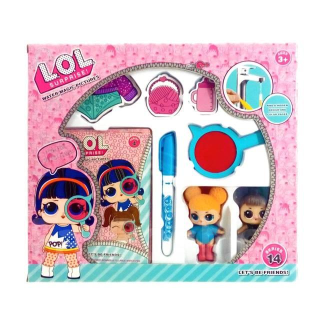 набор для куклы лол Lol раскраска игрушки во владивостоке