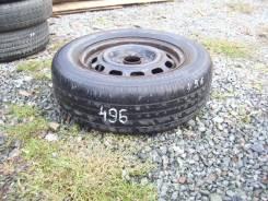 Одно колесо, летняя шина 205/65 R-15 с диском 5х114
