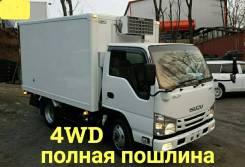 Isuzu Elf. 4WD, рефрижератор 2 тонны, 3 000куб. см., 2 000кг., 4x4