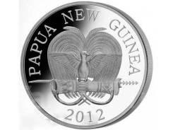 Папуа-Новая Гвинея. =Колючий муравьед= Красная книга. Огромная монета!