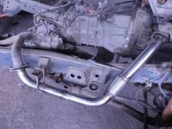 Глушитель передняя часть Toyota Land Cruiser 80 1HDT/FT D63mm нержа