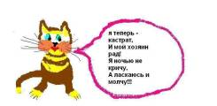 Кастрация котов и кобелей недорого (у вас на дому)! В Москве