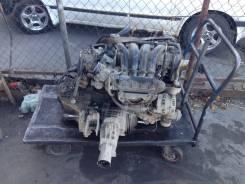 Двигатель 4G64 в сборе с автоматом и раздаткой на Mitsubichi Airtrek. Mitsubishi Airtrek, CU2W, CU4W Двигатель 4G64
