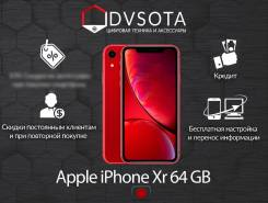 Apple iPhone Xr. Новый, 64 Гб, Красный, 4G LTE, Dual-SIM, Защищенный