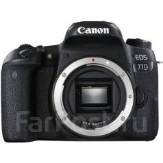 Canon EOS 77D Body. 20 и более Мп, зум: без зума. Под заказ