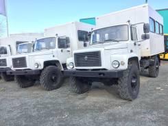 ГАЗ 3308 Садко. ГАЗ 3308-80 Автобус специальный (Вахтовка), 4 430куб. см., 2 000кг., 4x4. Под заказ