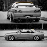 Спойлер на заднее стекло. Nissan Skyline Nissan GT-R, Coupe. Под заказ