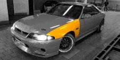 Крылья GTR Nissan Skyline R33 Coupe, Sedan (под узкий бампер и пороги). Nissan Skyline Nissan GT-R, Coupe