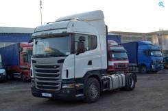 Scania G420LA. Scania G420 (Скания) тягач работал под тентванным п-п Шмитц . Пробег 1, 4x2