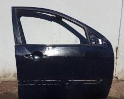 Дверь передняя правая голая Форд Фокус 1 черная