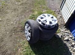 """Комплект колёс 155х65х14 Dunlop Enasave es203. 4.5x14"""" 4x100.00 ЦО 54,0мм."""