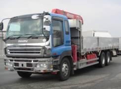 Isuzu Giga. 2006 эвакуатор, 14 250куб. см., 9 350кг., 6x4. Под заказ