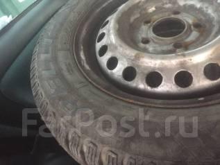 Шины шипованные Pirelli 195/65 15R на штампованных дисках. 5x114.30