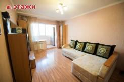 1-комнатная, улица Сельская 5. Баляева, проверенное агентство, 36кв.м. Интерьер