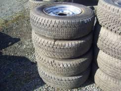 "Комплект колес, зимние шины 215/80 R-15 с дисками 6х139.7. 6.0x15"" 6x139.70 ET38 ЦО 100,0мм."