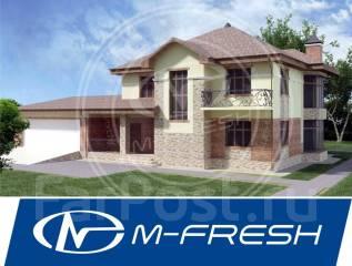 M-fresh Moscow Urban (Готовый проект большого современного дома! ). 400-500 кв. м., 2 этажа, 6 комнат, кирпич