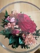 Цветы, фрукты декоративные.