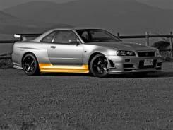 Накладка на порог. Nissan Skyline Nissan GT-R, Coupe. Под заказ