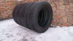 Michelin Latitude X-Ice North 2+. зимние, шипованные, 2014 год, б/у, износ 10%