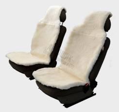"Накидка меховая ""SENATOR Country Premium"" SC022WH муттон, натур.овчина, ком-кт 2шт., белый"