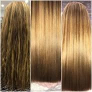 Кератиновое выпрямление волос, ботокс, нанопластика