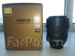 Nikon AF-S 18-140mm f/3.5-5.6G ED VR DX. Для Nikon, диаметр фильтра 67 мм
