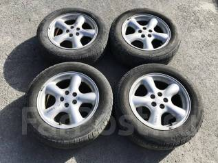"Диски Subaru + шины Pirelli P6000 215/60R16. 6.5x16"" 5x100.00 ET48"
