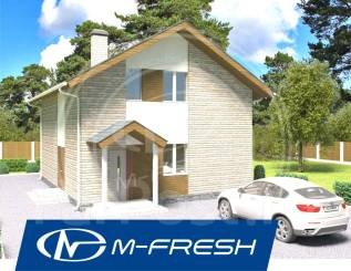 M-fresh Leo-зеркальный (Мансардный этаж в доме, 4 комнаты). 100-200 кв. м., 2 этажа, 4 комнаты, бетон
