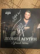 Пластинка Леонид Агутин с автографом автора.