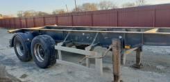 Тонар 974624. Продаётся полуприцеп контейнеровоз для перевозки 20ф, 29 500кг.