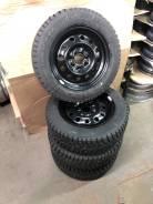 Dunlop ice 02 175/65 + штамп 4x98 r14 чёрная #1010