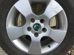 """Комплект зимних шин на литых дисках. 6.5x15"""" 5x112.00 ET-50"""