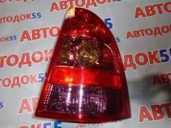 Стоп-сигнал. Toyota Corolla Fielder, NZE121, NZE124, ZZE122, ZZE123, ZZE124, NZE121G, NZE124G, ZZE122G, ZZE123G, ZZE124G Двигатели: 1NZFE, 1ZZFE, 2ZZG...