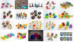Уголок мини игрушек, дополнительная опция для магазинов.