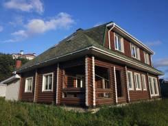 Продам солнечный двухэтажный коттедж на ЗАРЕ (Владивосток). Улица Лесная 131а, р-н Чайка, площадь дома 238кв.м., скважина, электричество 15 кВт, ото...