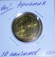 Эфиопия 10 сантимов, 2004
