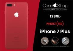 Apple iPhone 7 Plus. Новый, 128 Гб, Красный, 3G, 4G LTE, Защищенный
