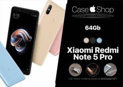Xiaomi Redmi Note 5 Pro. Новый, 64 Гб, 3G, 4G LTE, Dual-SIM, Защищенный