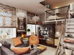 2-комнатная, улица Тихоокеанская. Краснофлотский, частное лицо, 51кв.м. Дизайн-проект
