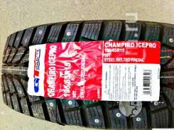 GT Radial Champiro IcePro. Зимние, шипованные, 2018 год, без износа, 4 шт