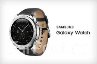 Умные часы Samsung Galaxy Watch 46 мм SM-R800 silver 059d6a6ee1d14