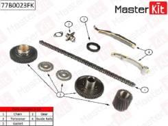 Комплект цепи ГРМ MITSUBISHI: PAJERO 3.2Di-D 4M41 00 77B0023FK