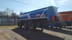 Капри. Полуприцеп бензовоз 25м3 - 2 оси (сталь), 26 700кг.
