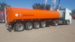 Капри. Полуприцеп бензовоз 32м3 - 4 оси (сталь), 35 700кг.