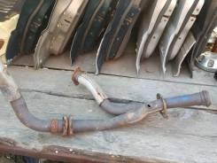 Приемная труба глушителя. Mitsubishi Pajero, V23W, V43W Двигатель 6G72