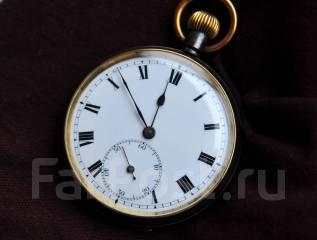 Карманные часы Швейцария. Оружейный металл. Прикоснись к истории. Оригинал