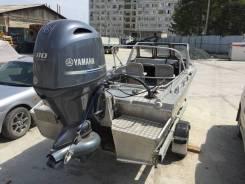 Yamaha. 115,00л.с., 4-тактный, бензиновый, нога L (508 мм), 2017 год