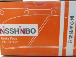 Тормозные колодки передние Nisshinbo NP1054 TOYOTA PRIUS