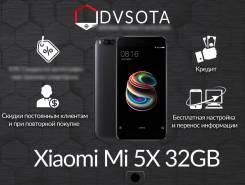 Xiaomi Mi5X. Новый, 32 Гб, Черный, Dual-SIM, Защищенный