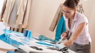 Пошив одежды.